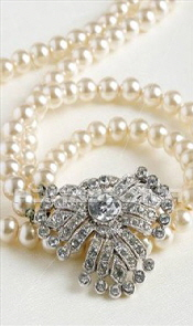antique-diamond-pearl necklace
